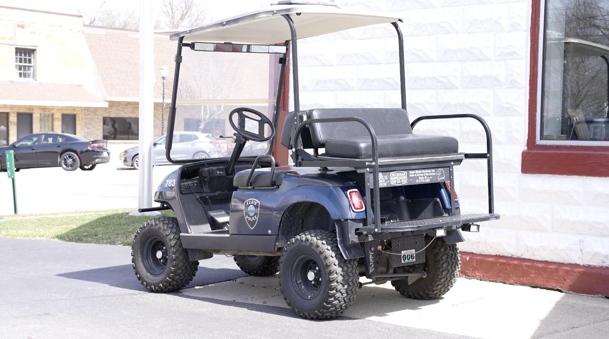 Elsie Police golf cart
