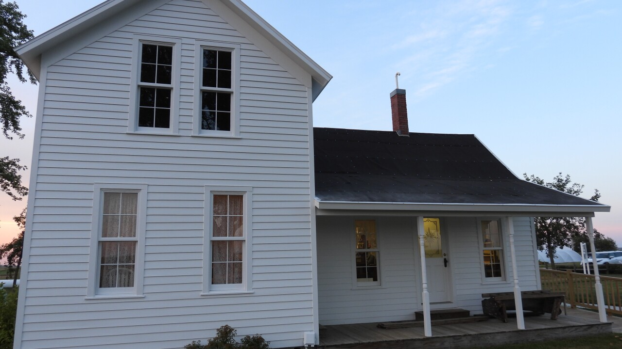 A farmhouse at the Henry A. Wallace birthplace.JPG