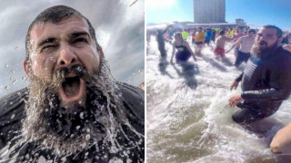 People Taking Action: Local group with fuzzy faces take action by taking an icy dip in upcoming PolarPlunge!