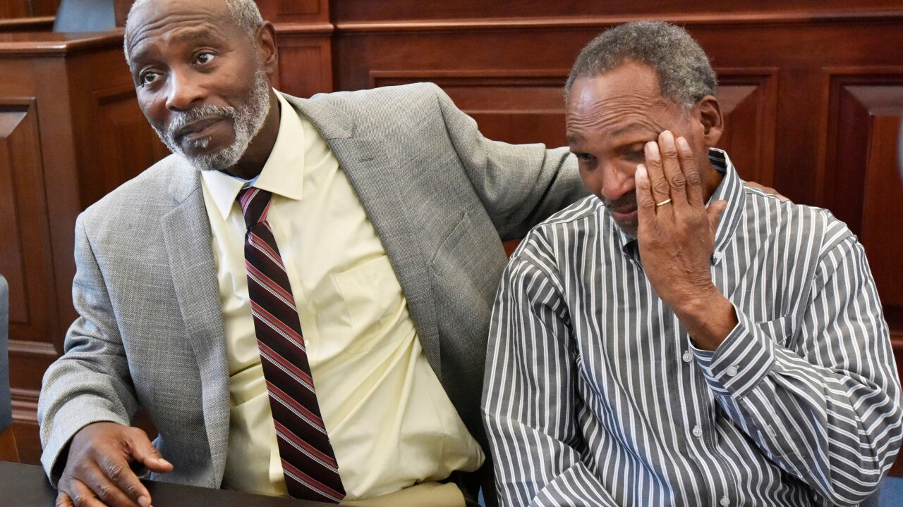 Florida clears two men after 42 years in prison for a murder they didn't commit