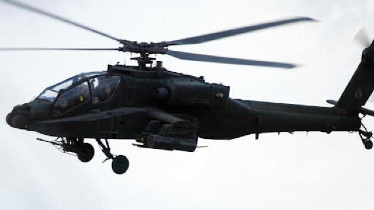 Two killed in Army helicopter crash in Kentucky