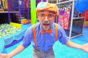 Stevin John, who plays Blippi