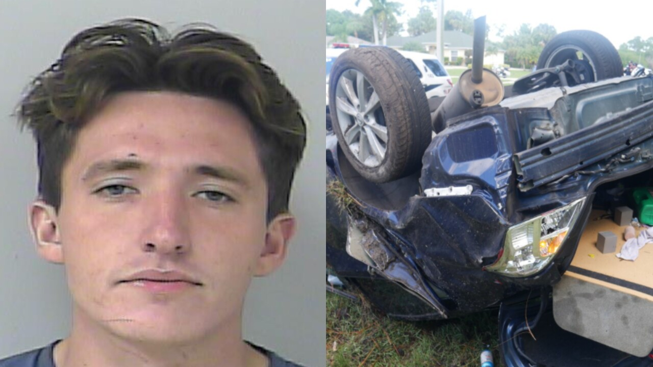 Joseph Miller arrest photo and crash