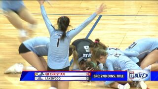 Grand Rapids Christian volleyball wins back-to-back state championships