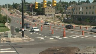 Union Blvd construction almost complete