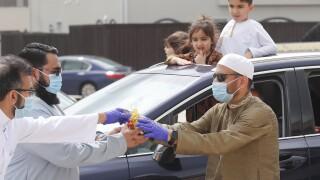 Virus Outbreak Eid al Fitr Holiday