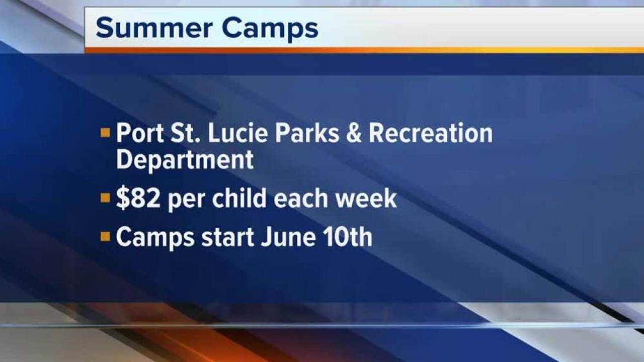 Port St. Lucie summer camps on June 10, 2019.