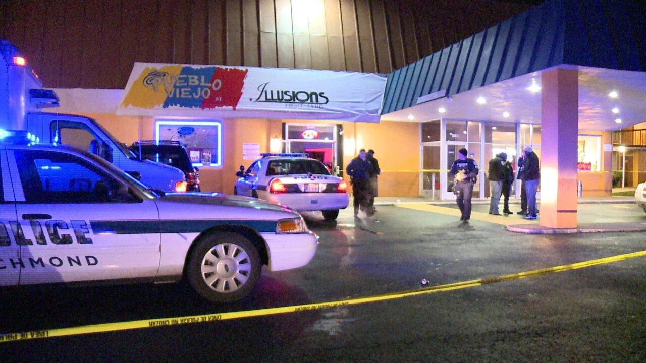 Man killed on dance floor at Richmondclub