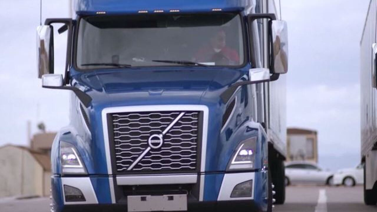 Trucking companies look to put drivers on road