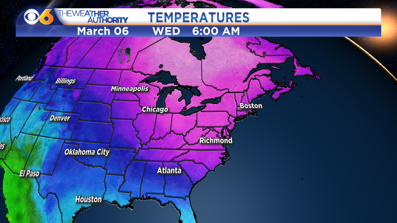 😰Brr! When more arctic air will arrive in Virginia thisweek