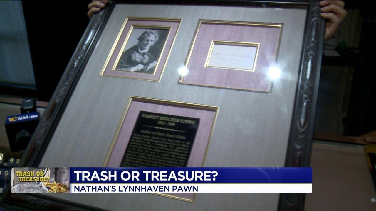 Trash or Treasure: Historicautograph
