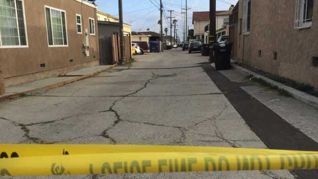 Victim shot in North Park alley