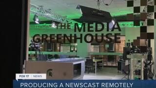 New Literacy Week: MSU students produce newscast remotely