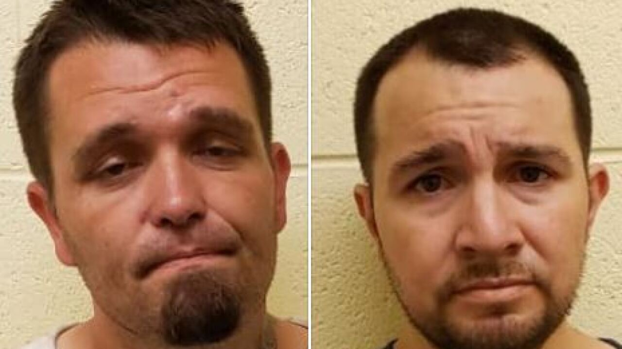 Two Utah men arrested in Wendover on possession of illegal narcotics