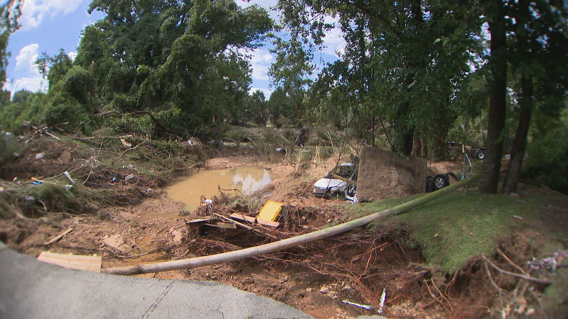 waverly flooding damage august 2021