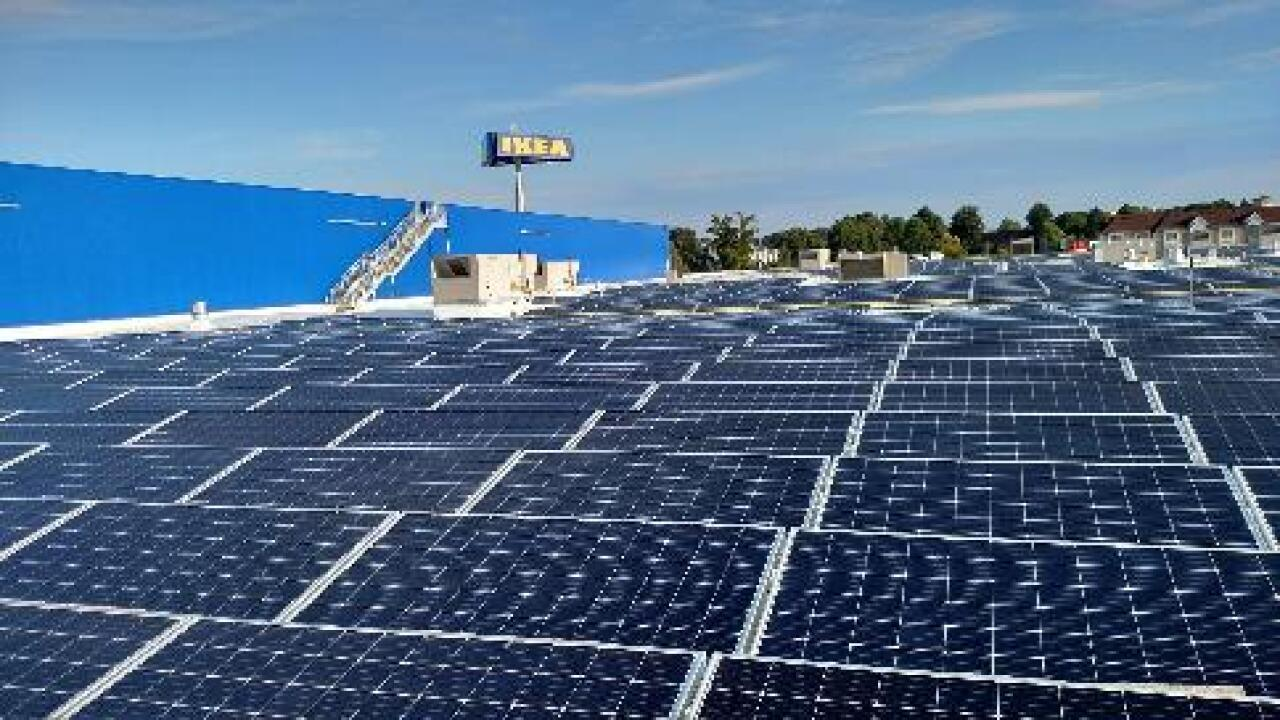 IKEA says future Norfolk location will be equipped with Hampton Roads' largest solar rooftop array