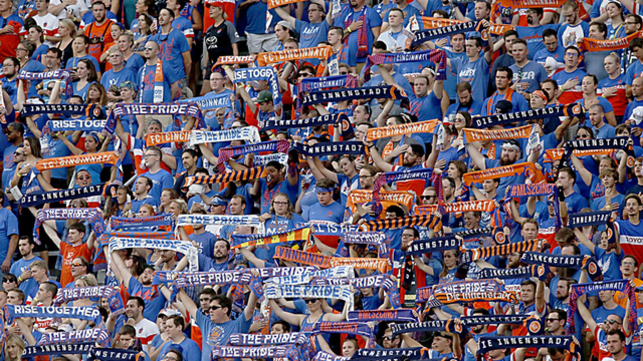 Lasso's header puts FC Cincinnati up 2-0 over Charlotte