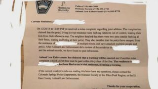 Fake notices threaten fines for barking dogs in Colorado Springs