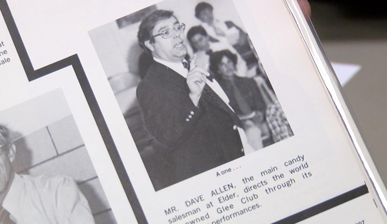 Dave Allen Elder Yearbook