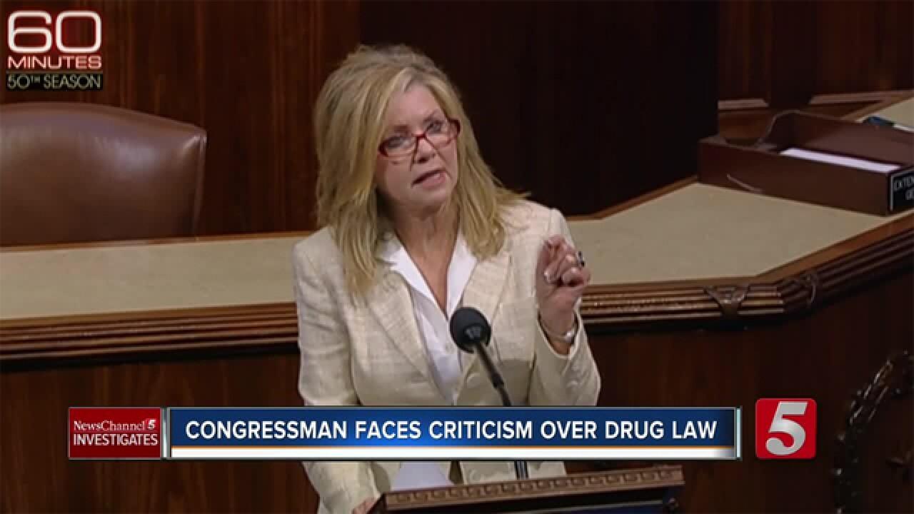 Congressman Blackburn Faces Criticism Over Federal Drug Law