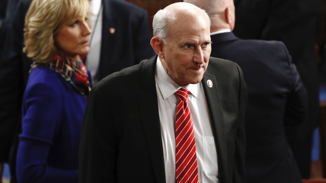 Rep. Louie Gohmert, often seen without a mask on Capitol Hill, tests positive for COVID-19