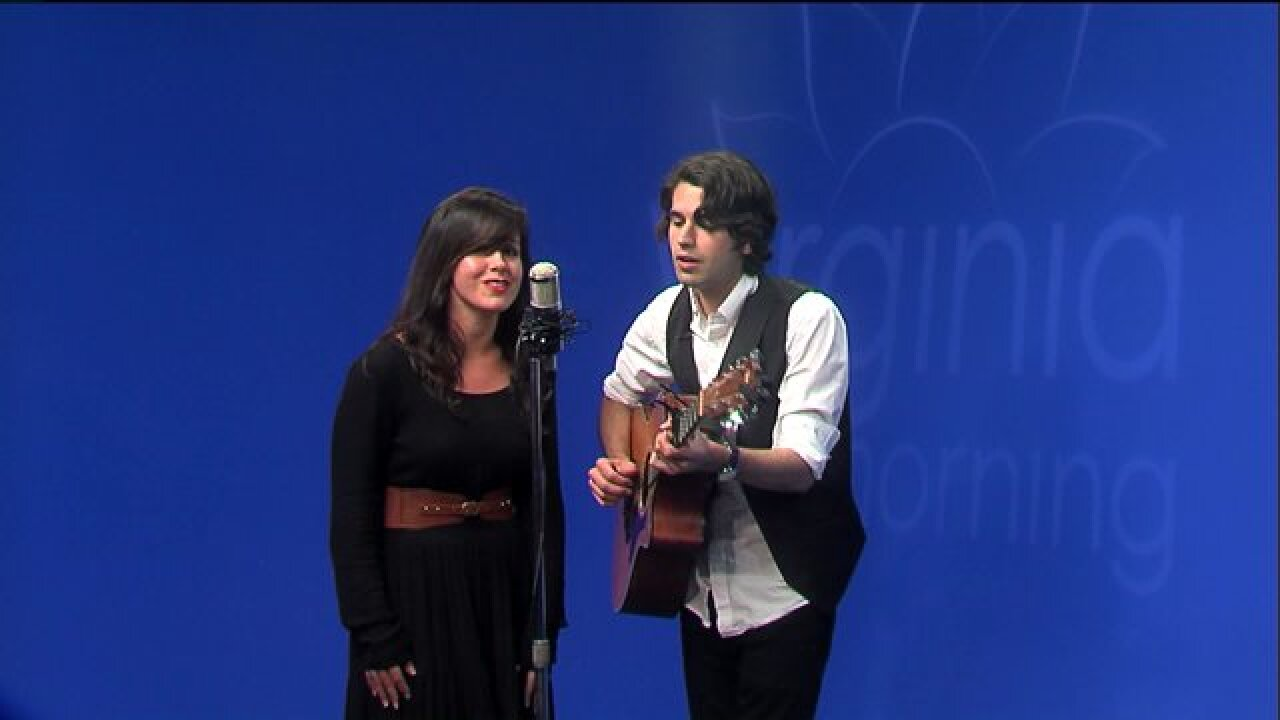 Enjoy two original songs by talented musical duo, The Tide Rose