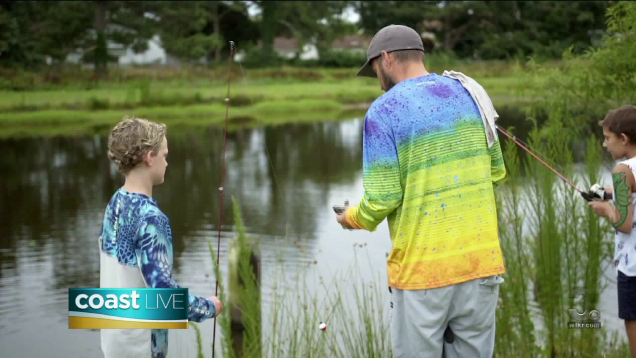 Helping pediatric cancer patients find hope through fishing on Coast Live