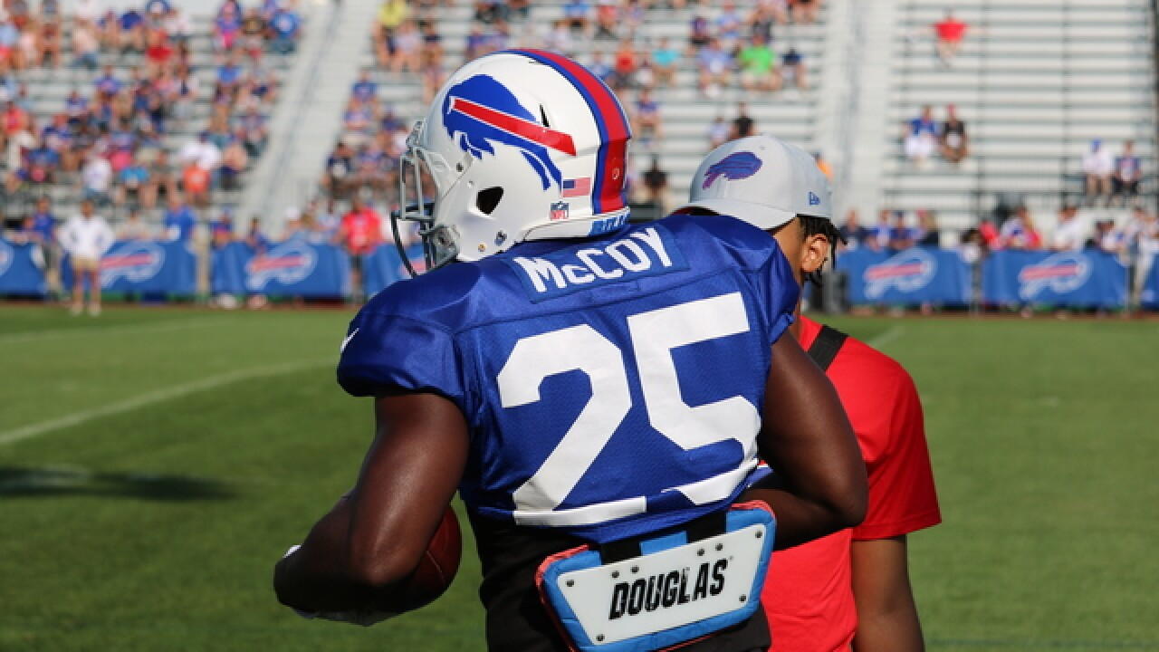 "Bills running back LeSean McCoy calls new allegations ""ridiculous"""