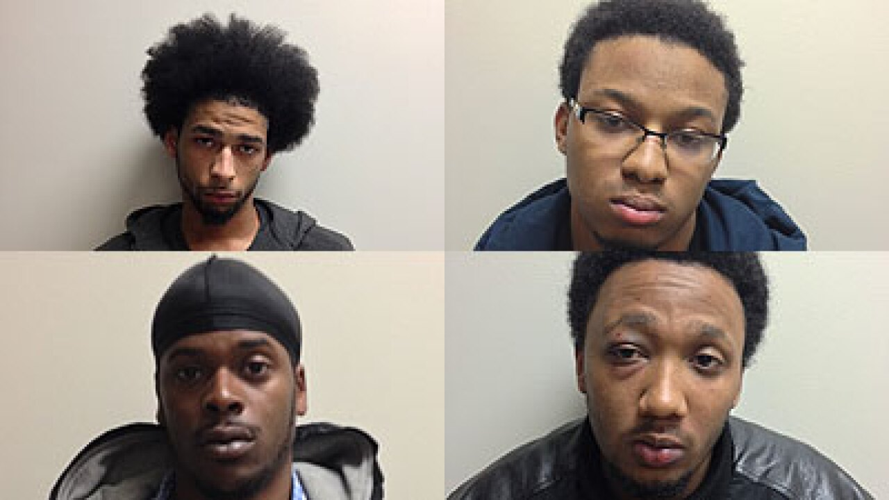 Four arrested after man shot during home invasion robbery in James City County