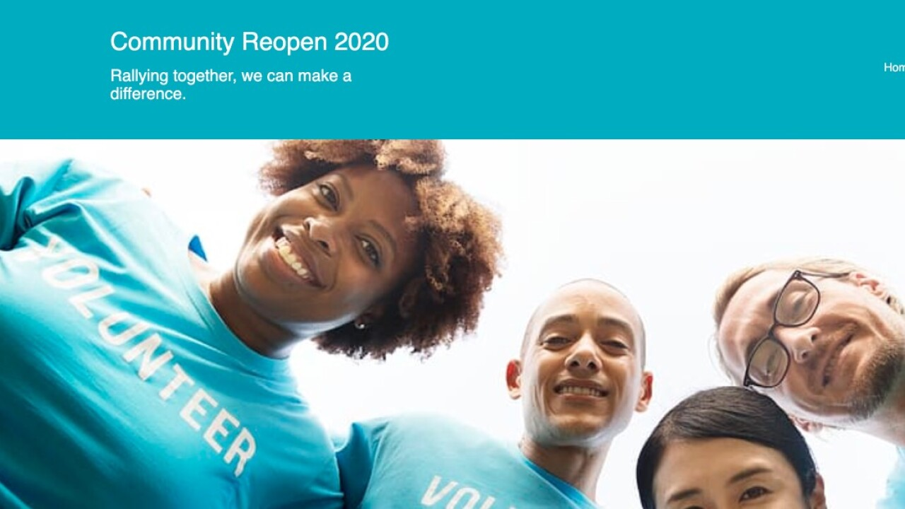 Commmunity Reopen 2020