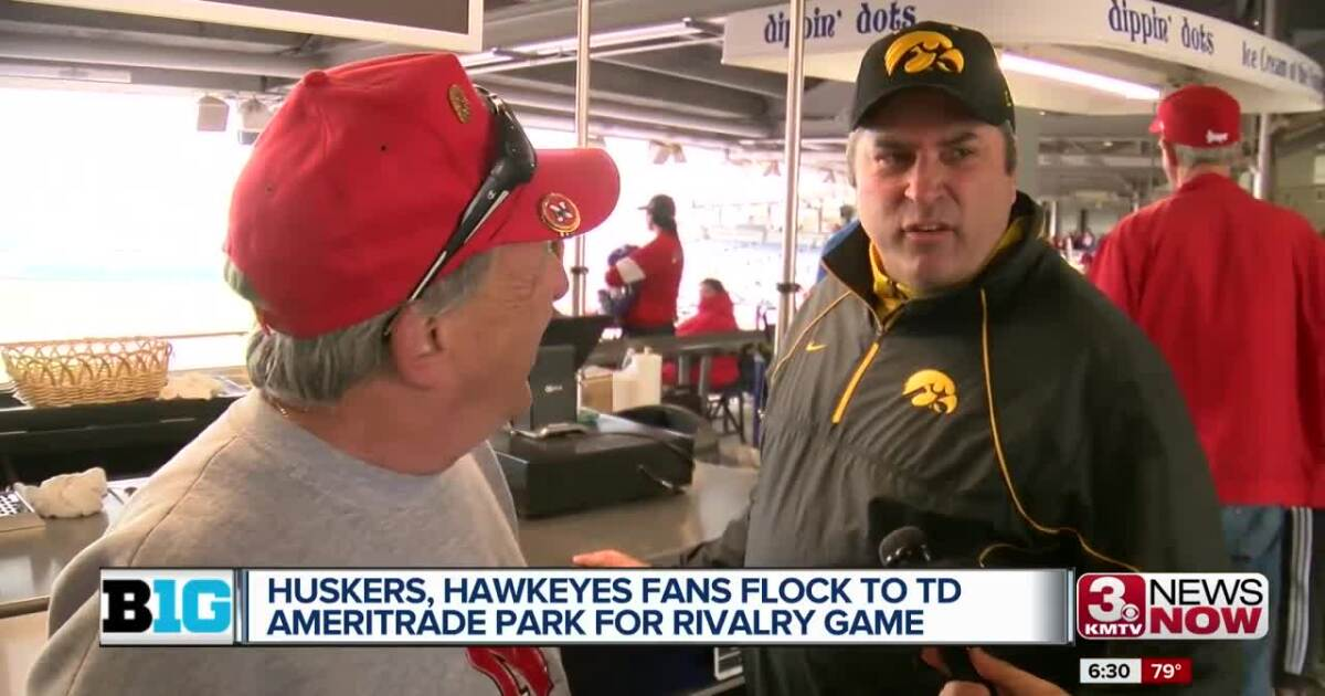 Huskers and Hawkeyes fans flock to TD Ameritrade Park
