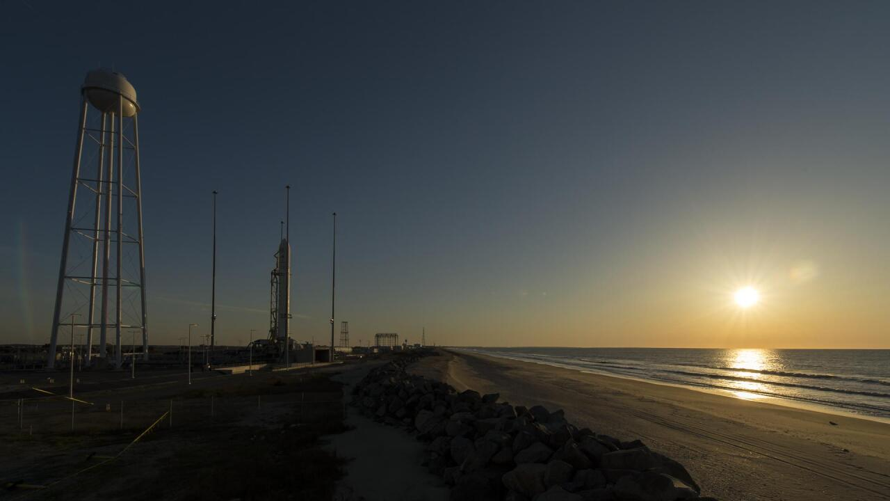 NASA Wallops launches cargo spacecraft bound for International Space Station