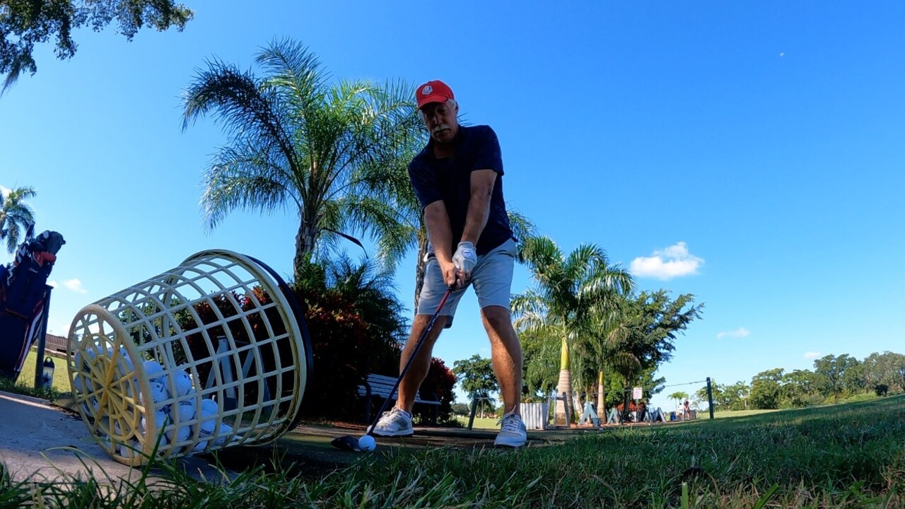 A golfer tees off at the Boca Raton Municipal Golf Course on Sept. 28, 2021.jpg