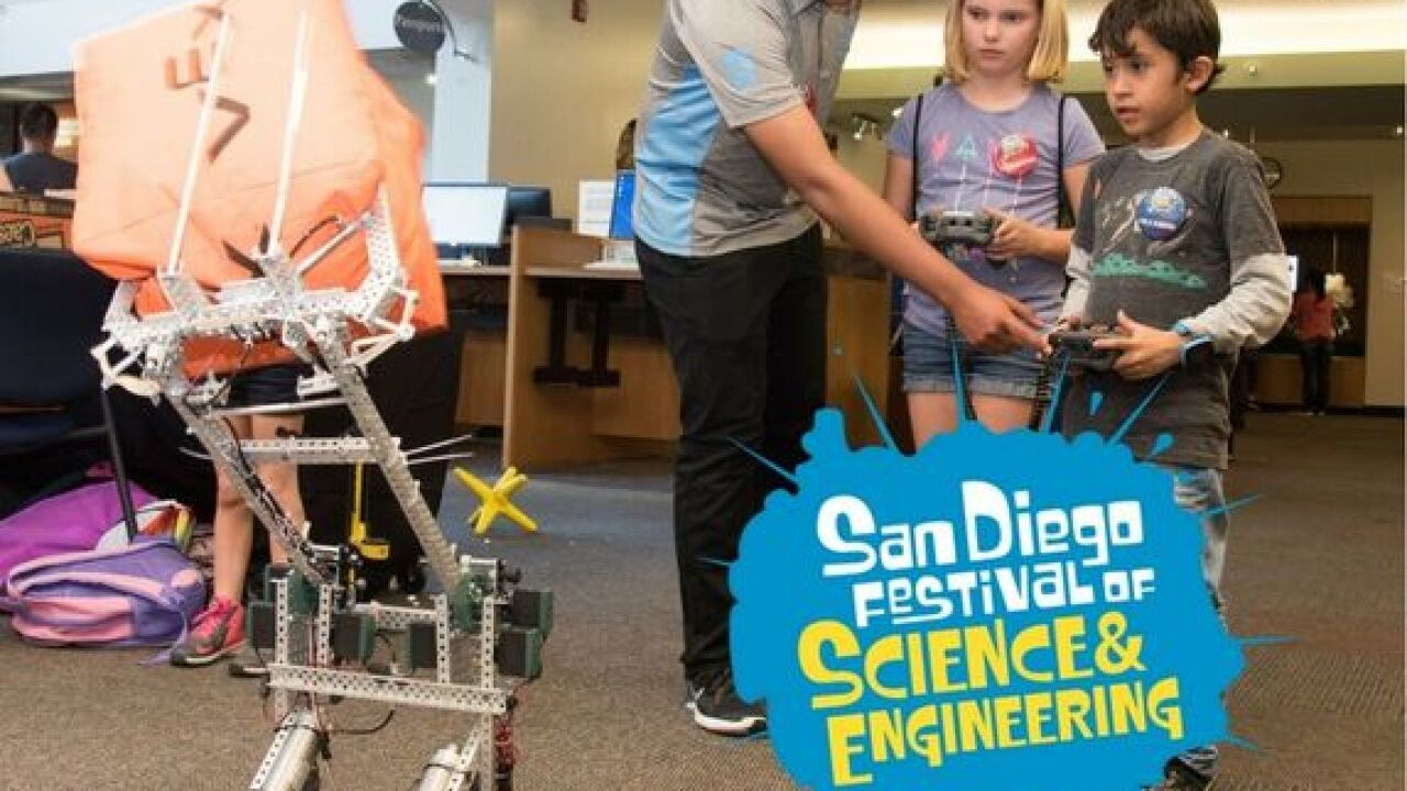 2018 San Diego Festival of Science and Engineering Expo