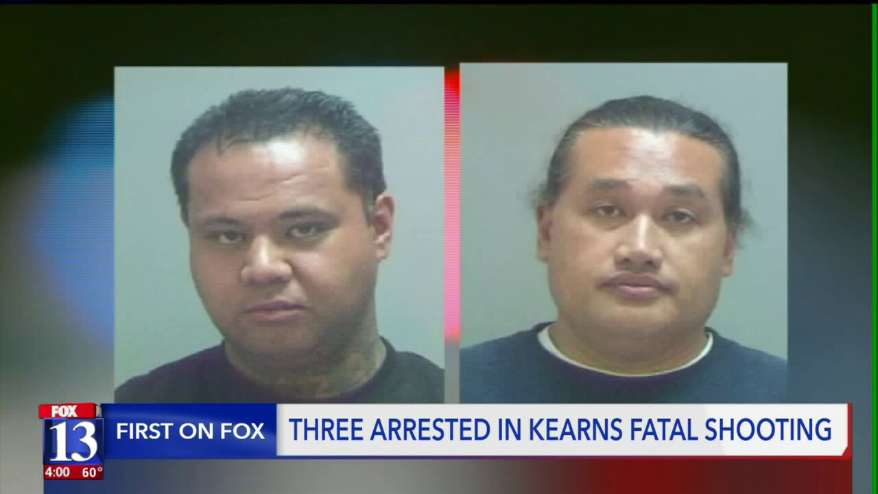 Kearns shooting suspects arrested