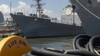 USS San Jacinto Homecoming