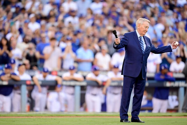 Celebrities and famous athletes spotted at 2017 World Series