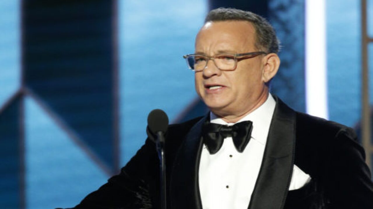 Tom Hanks Broke Down In Tears While Accepting The Lifetime Achievement Award At The Golden Globes