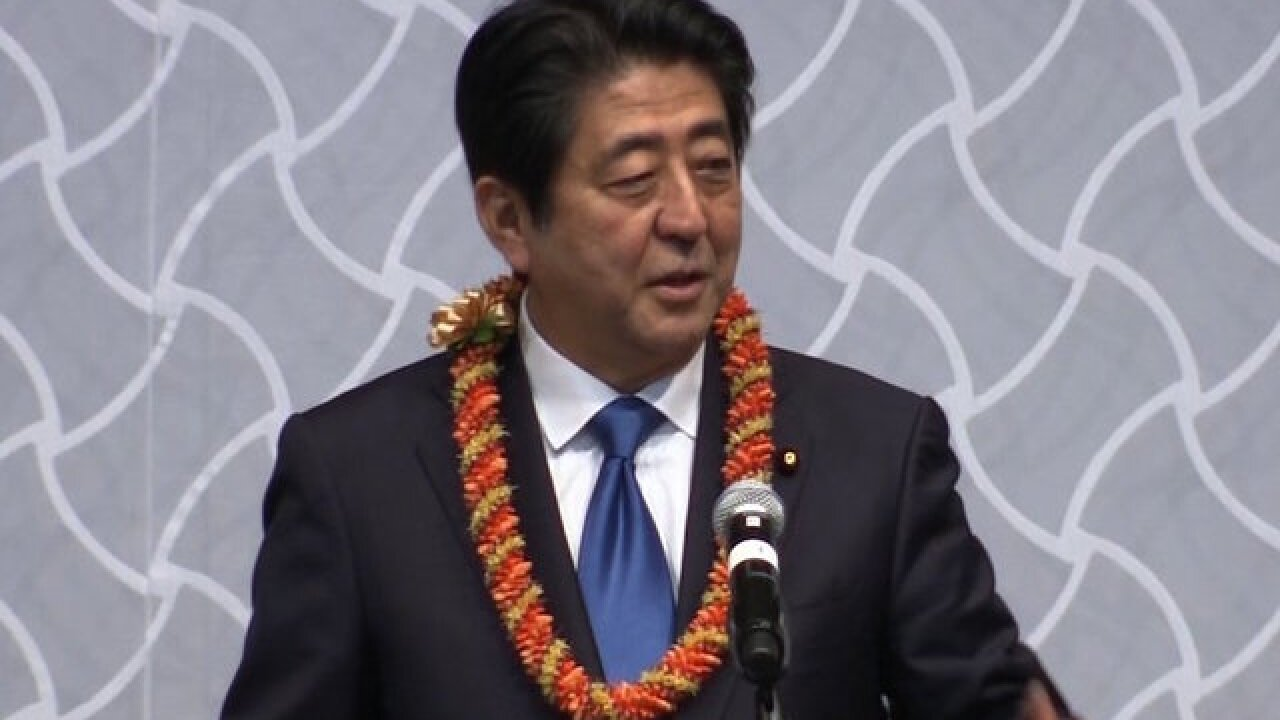 Obama holds historic meeting with Japan's prime minister at Pearl Harbor