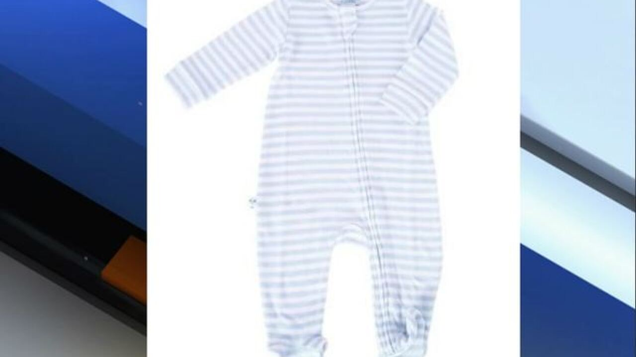 Children's pajamas recall due to violation of flammability standard