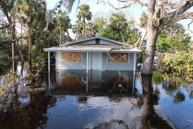 Flooding in Bonita Springs from Hurricane Irma