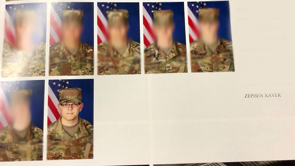 military photo zephen xaver