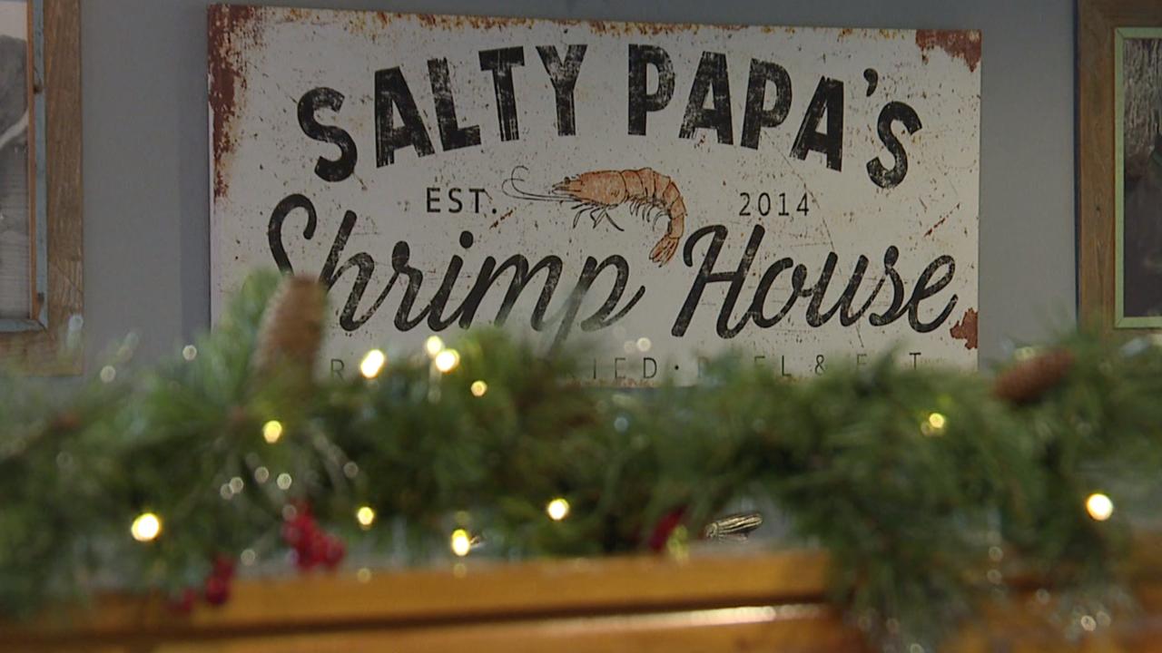 Salty Papa's Shrimp House holiday meals