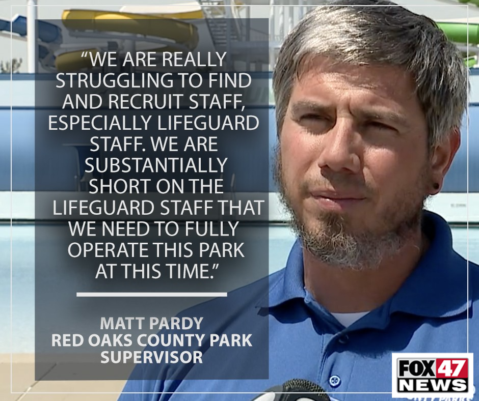 Matt Pardy, Red Oaks County Park supervisor