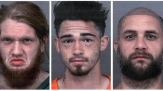 This combo of undated photos provided by the Cherokee County, Texas, Sheriff's Office shows, from left, Dylan Welch, Jesse Pawlowski and Billy Phillips..JPG