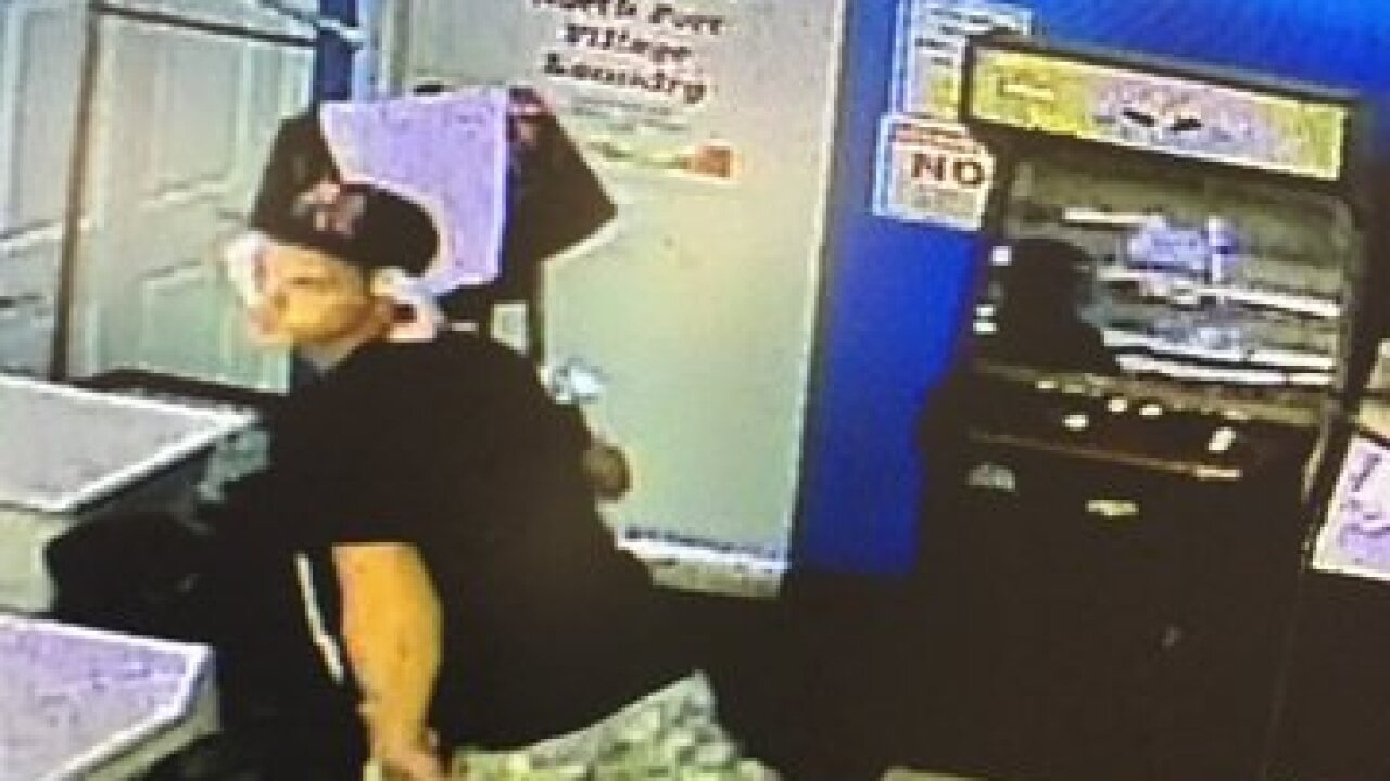 Coin laundry thief sought North Port