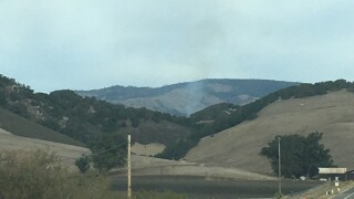 Fire crews responding to vegetation fire in Cambria