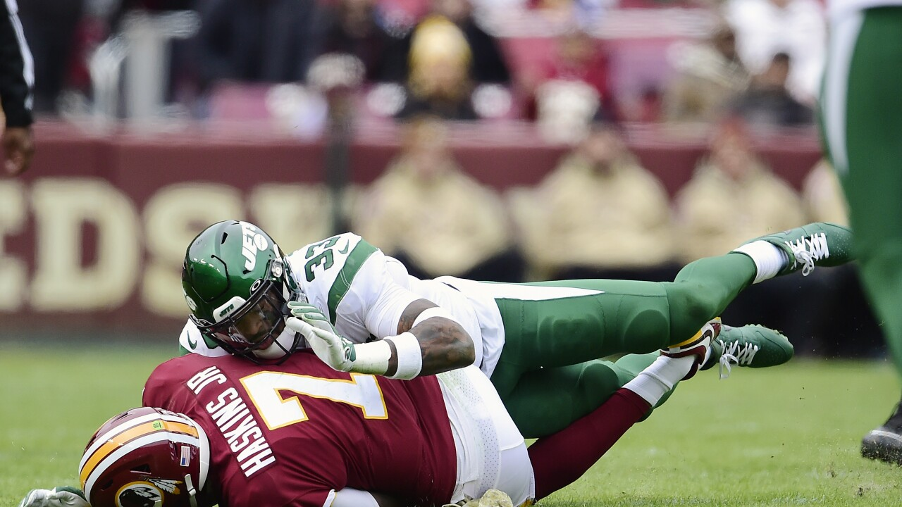 Redskins end touchdown drought in defeat vs. Jets, fall to 1-and-9 on season