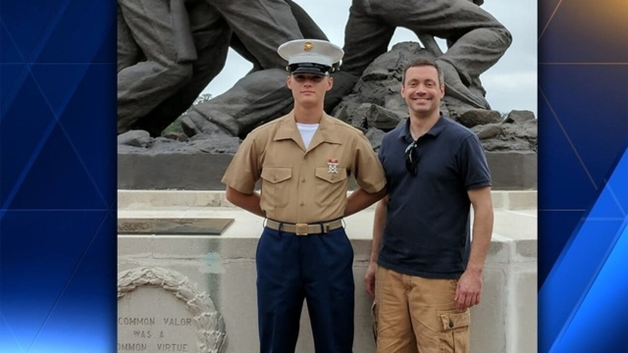 18-year-old Marine killed at Camp Pendleton