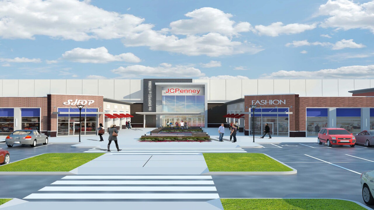 Shoppes at Parma to become open-air retail